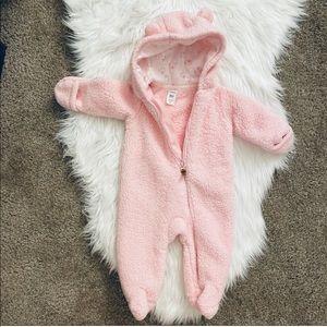6M Carter's Baby Girl Sherpa Bodysuit